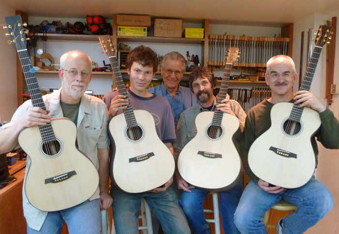 build your own guitar group