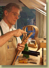 Charles Fox luthier and guitar making teacher