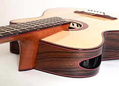 guitar making - advanced design features